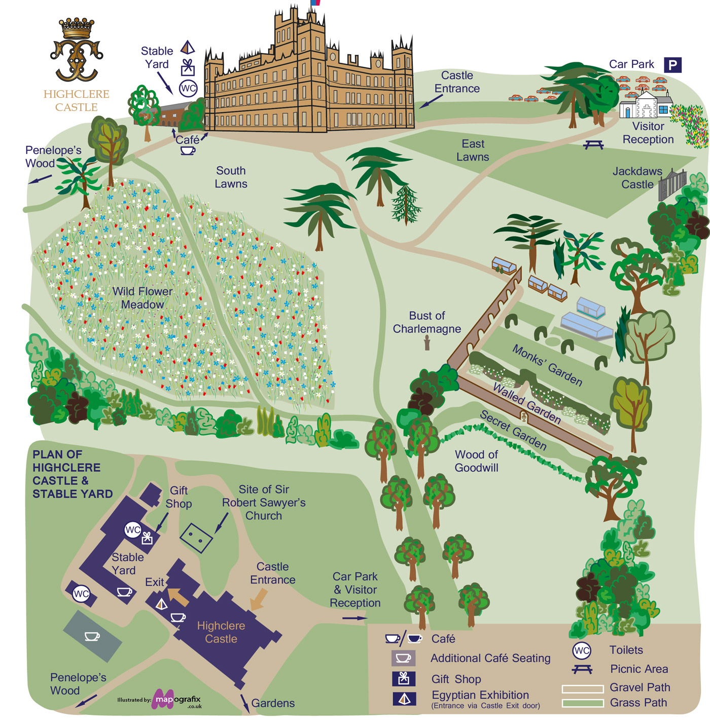 A day at downton abbey Good house map