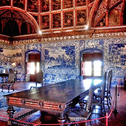 Sintra Palace - Coat of Arms Room