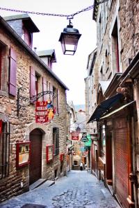 Streetways of Mont St. Michel
