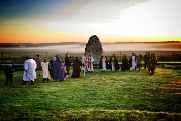Handfasting Ceremony at Stonehenge