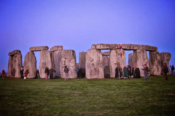 Stonehenge before sunrise