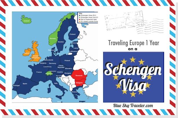 How To Travel In Europe On A Schengen Visa