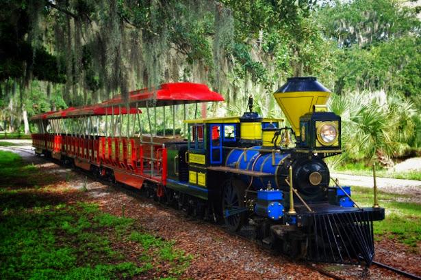 New Orleans City Park Train
