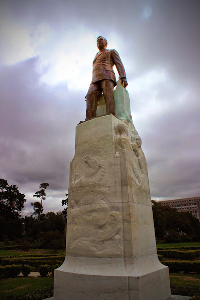 Louisiana State Capitol Huey Long Statue