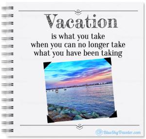 Vacation Stress