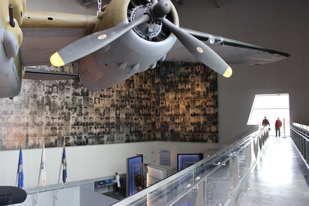 The National World War II Museum in New Orleans:  Heroes