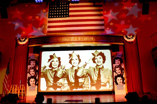 The Andrews Sisters at the Stage Door Canteen