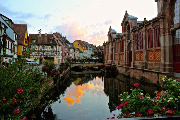 Fairy Tale Village Of Colmar France