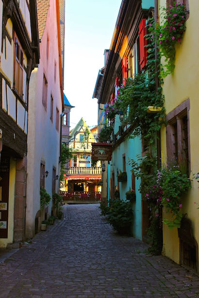 Town of Riquewihr - Alsace Region of France