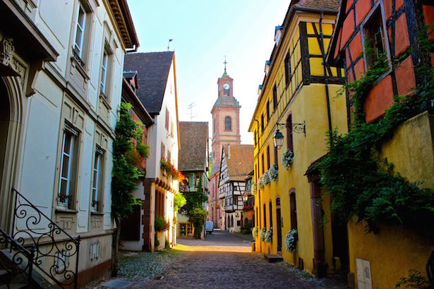 Charming french village of riquewihr Colmar beauty and the beast