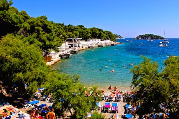 Hvar Croatia Beaches - BlueSkyTraveler.com