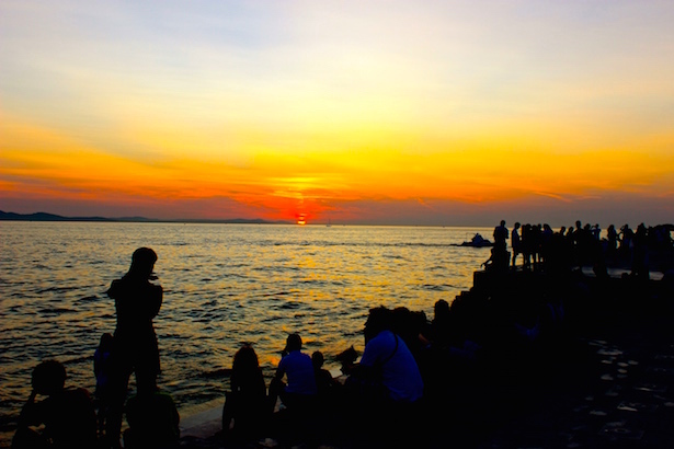 Blue Sky Traveler: Beautiful Sunsets in Zadar