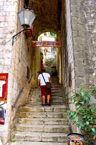 Montenegro - Wall of Kotor - BlueSkyTraveler.com