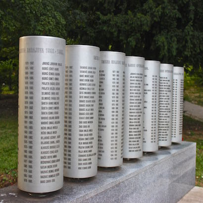 Bosnia Sarajevo Childrens Memorial