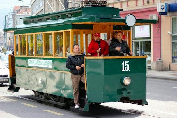 Bosnia.Trolley