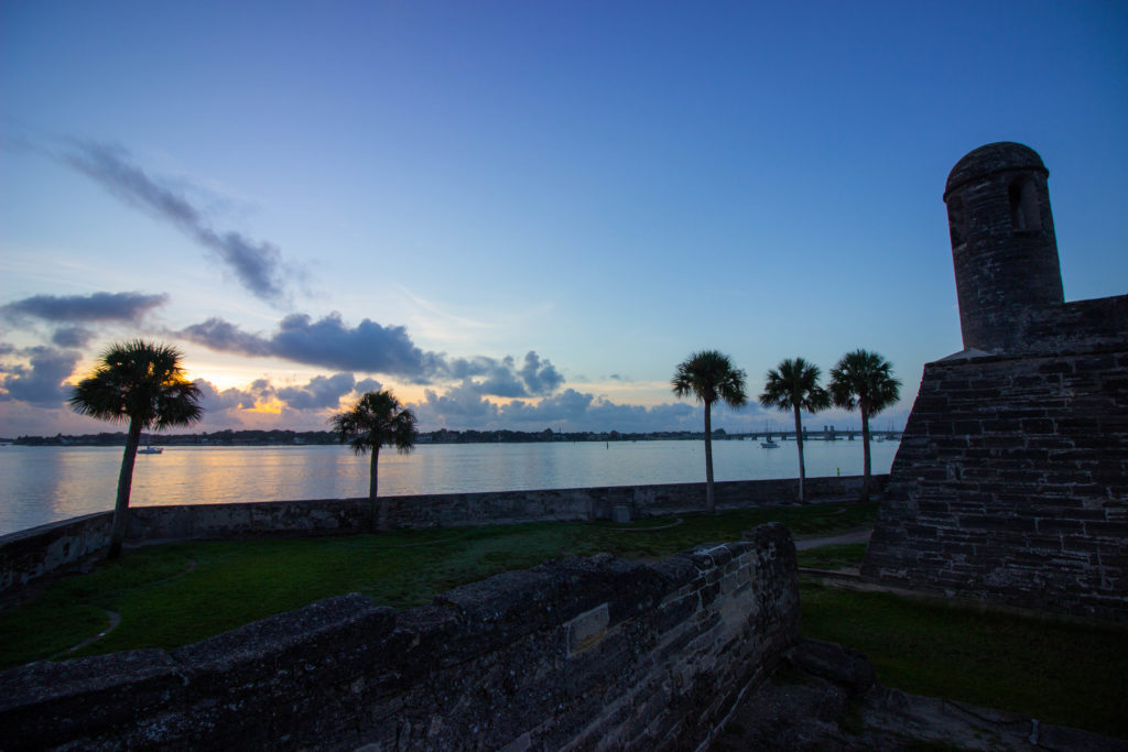 Photo: Teri Didjurgis | BlueSkyTraveler • St. Augustine Sunrise