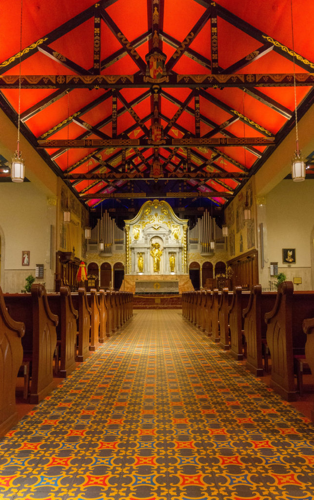Photo: Teri Didjurgis • BlueSkyTraveler || St. Augustine's Cathedral Basilica of St. Augustine