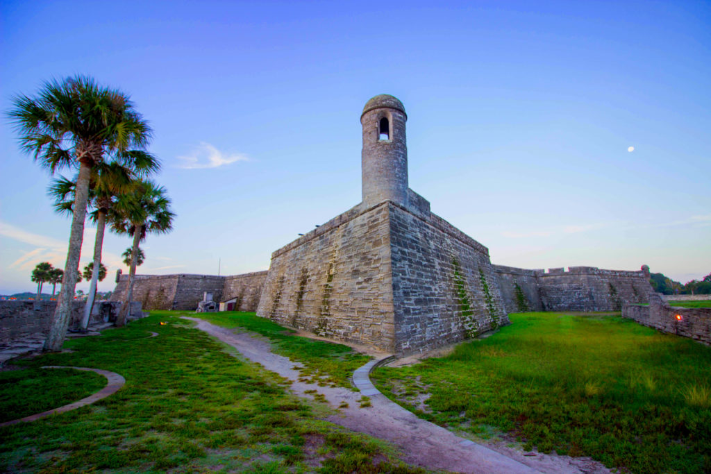 Photo: Teri Didjurgis • BlueSkyTraveler || Castillo de San Marcos Fort