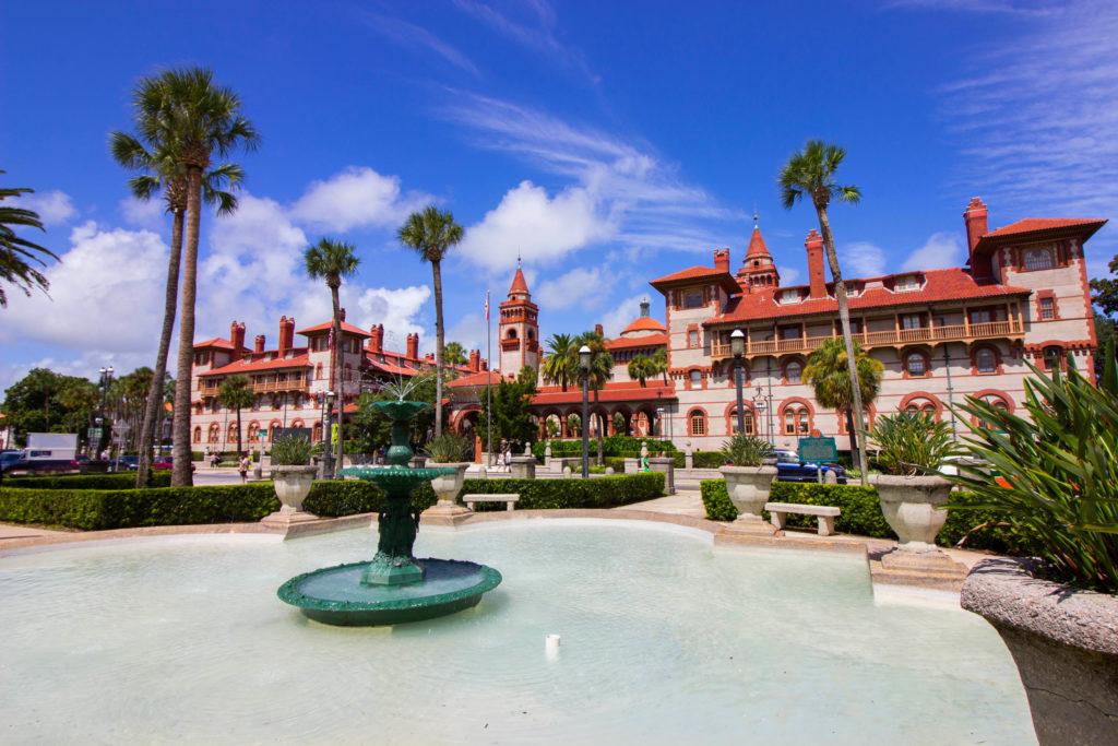 Photo: Teri Didjurgis • BlueSkyTraveler || Ponce de Leon Hotel •Flagler College