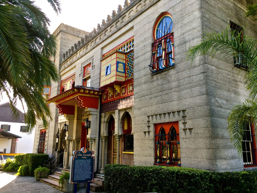 Photo: Teri Didjurgis • BlueSkyTraveler || St. Augustine's Villa Zorayda