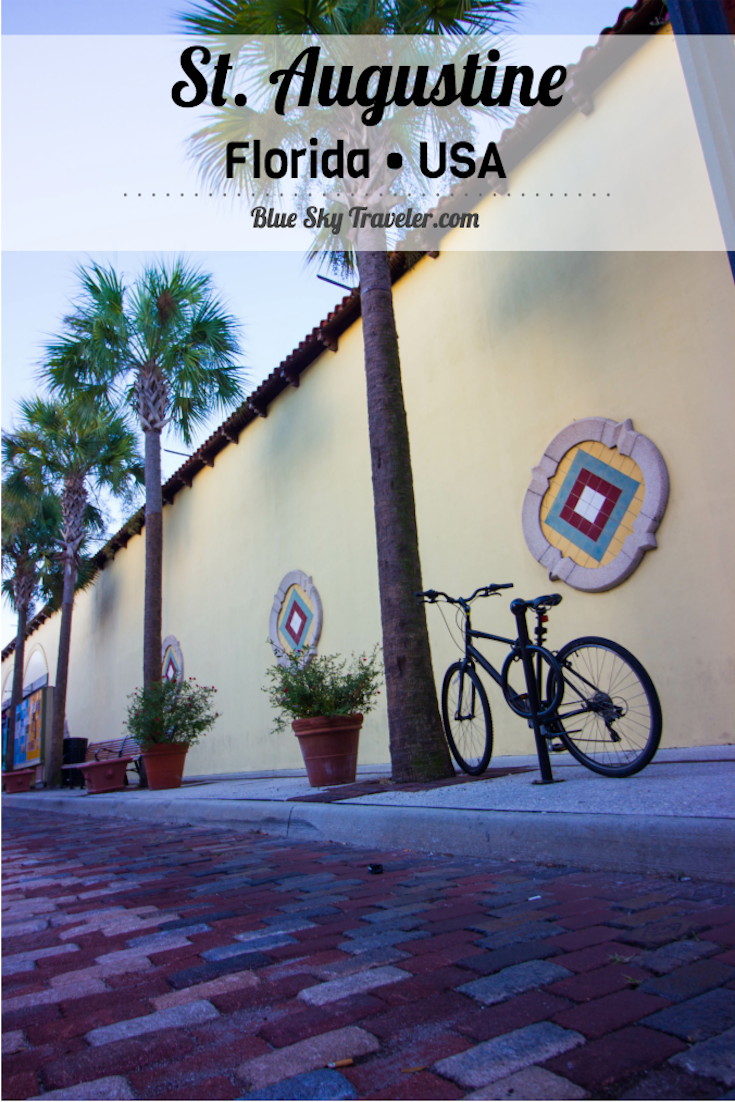 Take a weekend getaway to St. Augustine, Florida to explore history in first USA city on the East Coast. See more ->> http://www.blueskytraveler.com