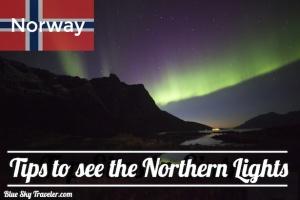 Northern Lights in Tromso Norway