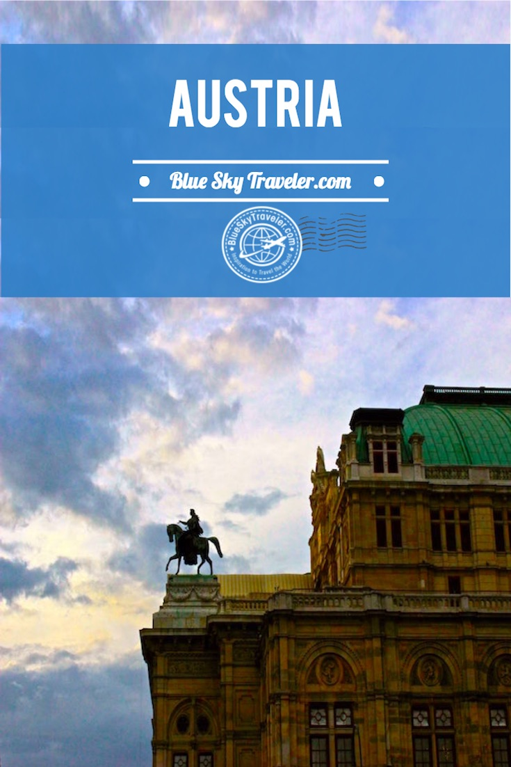 Inspiration for travel to Austria ~ Land of Mountains | Land by the River ~ Visit Vienna, Salzburg, Graz, Lake Traun & the Bohemian Forest to see mountain villages, baroque city architecture, Imperial history and rugged alpine terrain.
