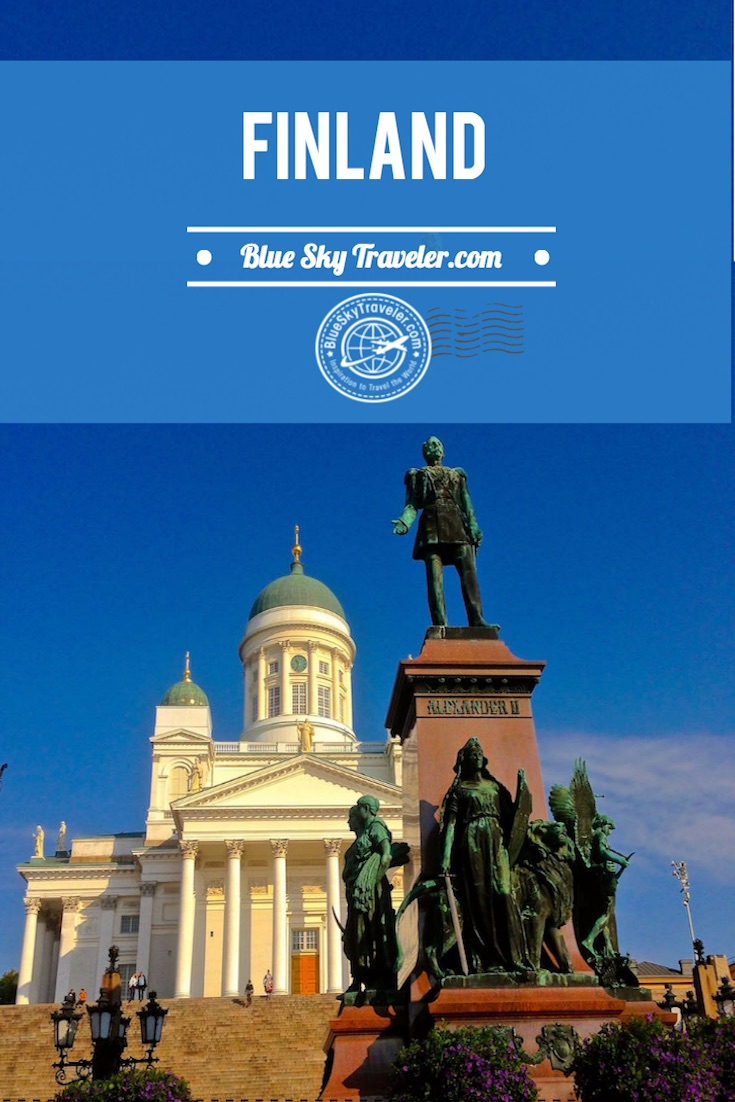 Inspiration to Travel to Finland ~ I wish I was in Finland ~ Discover this Northern European nation. Visit Helsinki with its 18th-century fortress Suomenlinna, the Seurasaari open-air museum and a neoclassical cathedral and see the Northern Lights in the Arctic Lapland.