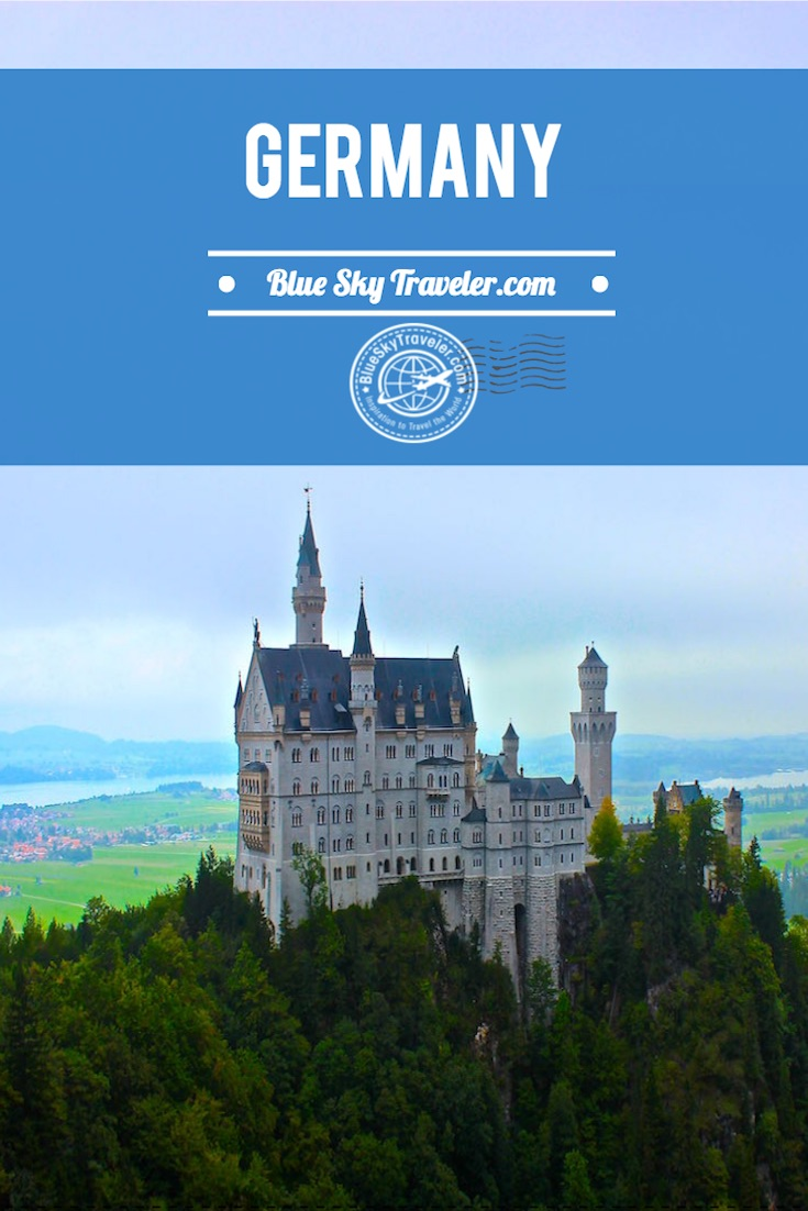 Inspiration to Travel to Germany ~ The Travel Destination ~ Visit Germany and enjoy big cities (Berlin & Munich) and medieval villages (Rothenburg ob der Tauber) and fairy tale castles (Neuschwanstein Castle) with lots of beer & great food. Plan your vacation.