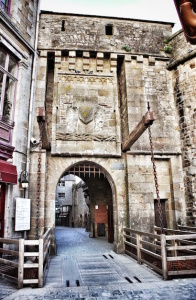 Gate to Mont St. Michel