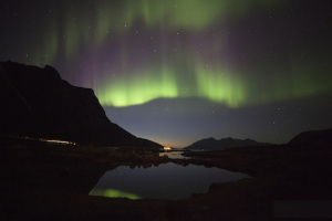 Northern Lights in Tromso, Norway