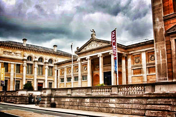 Ashmolean Museum in Oxford England
