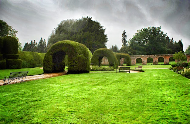 The Monks Garden at Highclere Castle