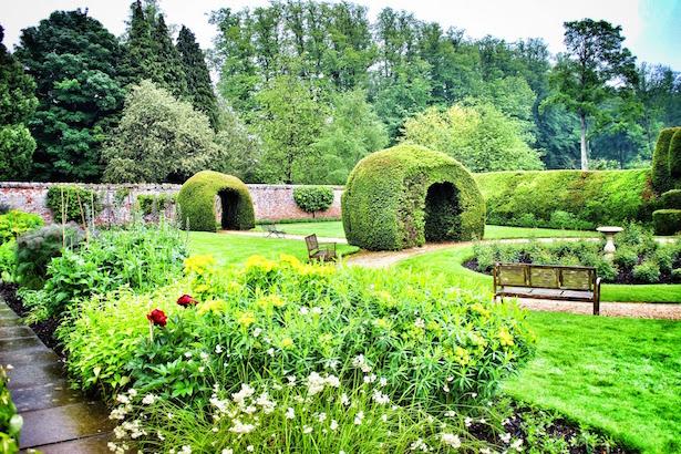 The Monks Garden at Highclere Castle