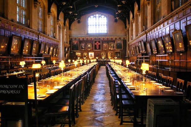 Harry potter sightings in oxford blueskytraveler christ church great hall publicscrutiny Choice Image