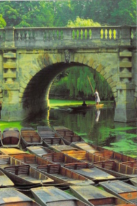 Oxford Punting Folly Bridge
