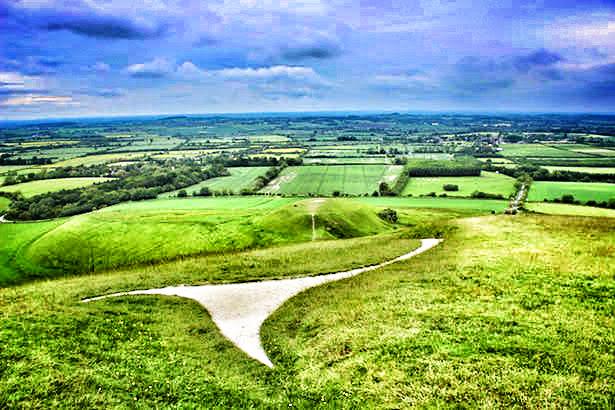Oxford Day Trip: White Horse of Uffington