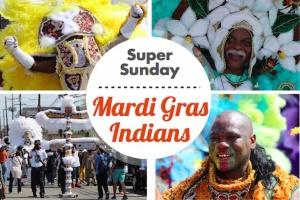 Super Sunday - Mardi Gras Indians Parade