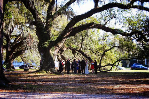 New Orleans City Park Wedding
