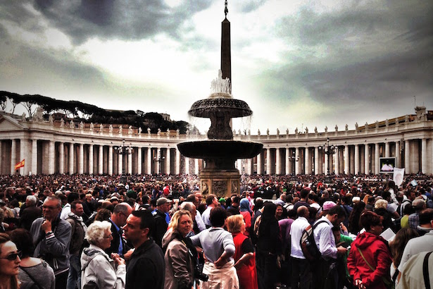 Easter at the Vatican with Pope Francis
