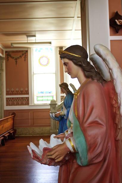 Painted Church - St. John the Baptist Church