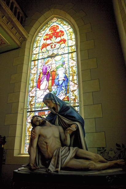 St. Mary's of High Hill Painted Church Pieta