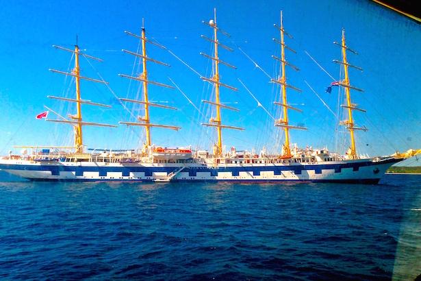 Hvar Croatia Ship - BlueSkyTraveler.com