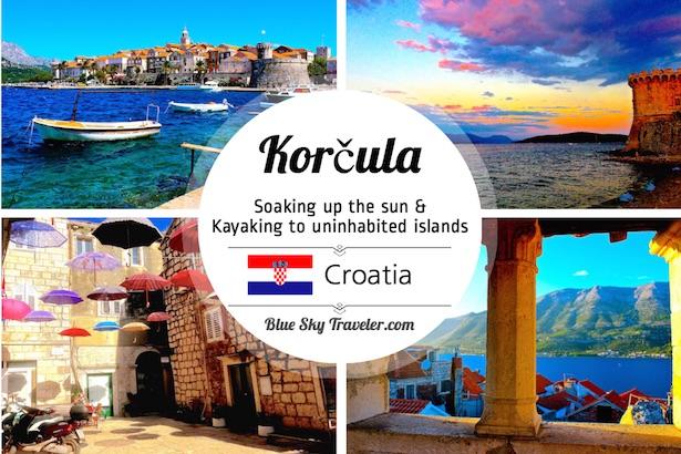 Soaking up the Croatian Sun in Korčula · BlueSkyTraveler com