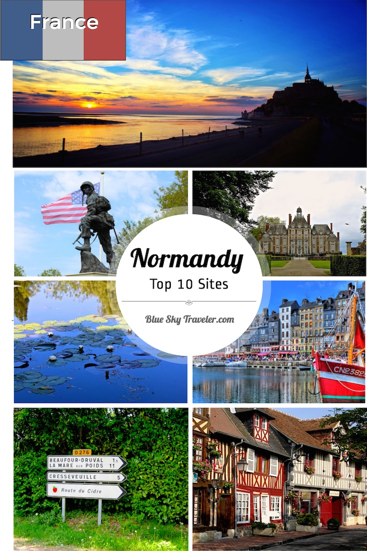 France Normandy Top 10