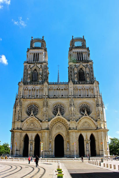 Cathedral of Ste Croix - Joan of Arc