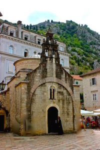 Kotor - St. Luke's Church - BlueSkyTraveler.com