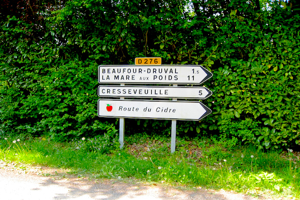 Route du Cidre - Normandy