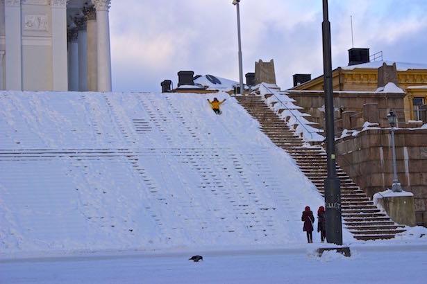 Finland.HelsinkiSecret.Sledding