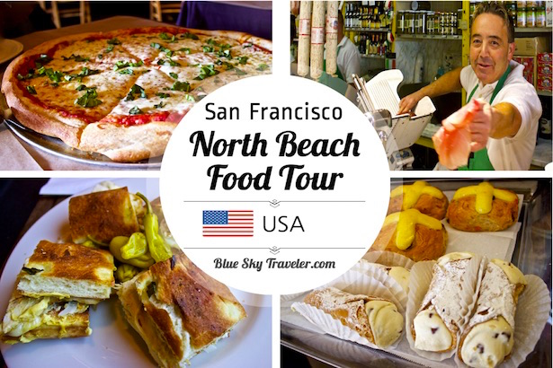 San Francisco North Beach / LIttle Italy Waking Food Tour - Looking for the perfect tour for a little history and a LOT of food in San Francisco? Found at Local Tastes of the City Tour through North Beach / Little Italy for an overload of Italian dishes and tasty treats with a North Beach local to give you an authentic experience.